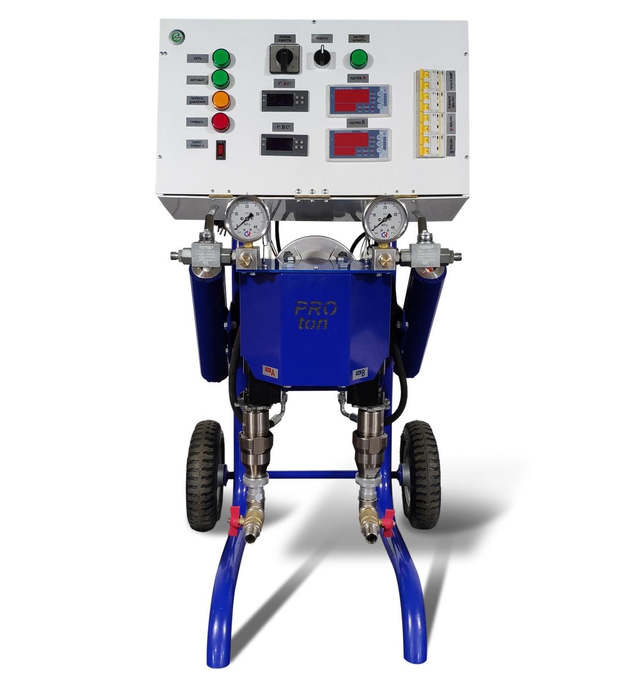 PROton Е-6ms - установка высокого давления для напыления ППУ и ПМ