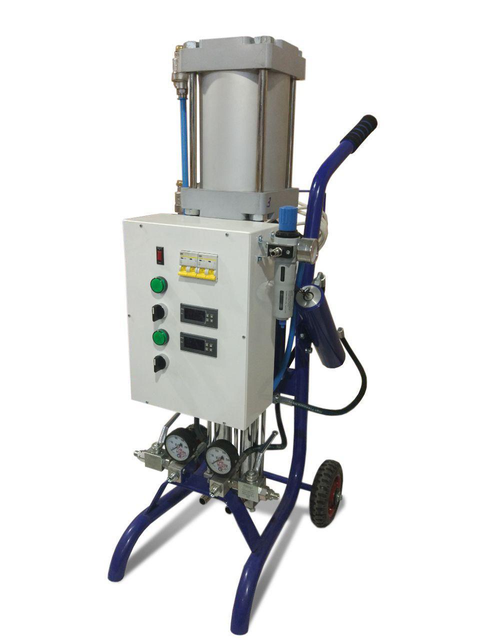 PROton A-2 - установка высокого давления для напыления ППУ и полимочевины