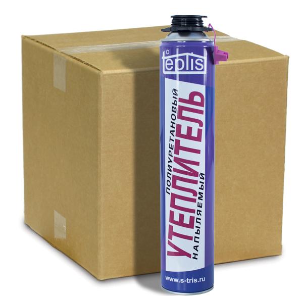 Teplis - напыляемый утеплитель (коробка 12 шт)